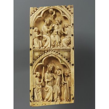 Panel - Virigin and Child and the Coronation of the Virgin