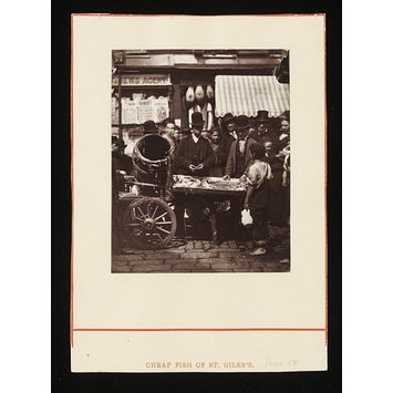 Photograph - The Seller of Shell-Fish
