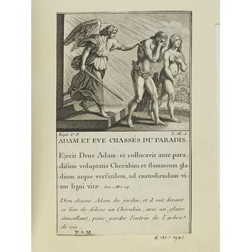 Print - Adam and Eve