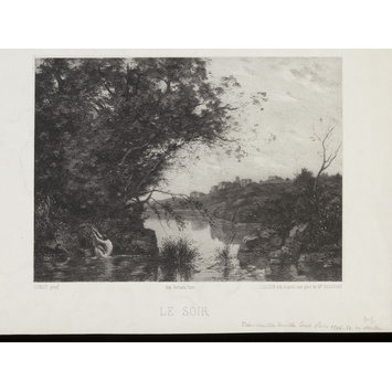 Le Soir | Corot, Jean-Baptiste-Camille | V&A Search the ...