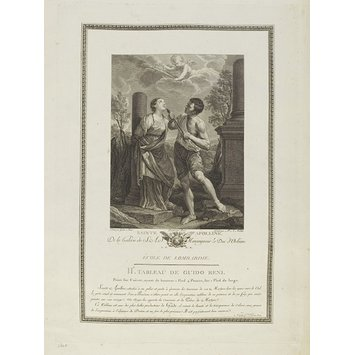 Print - The Martyrdom of St. Apollonia