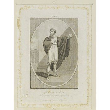 Print - Mr. Kemble as Cato