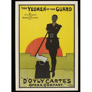 Poster - Yeomen of the Guard