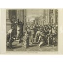 St. Paul and St. Barnabas at Lystra (Print)