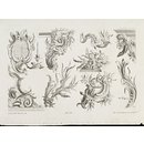 Design for rococo ornament