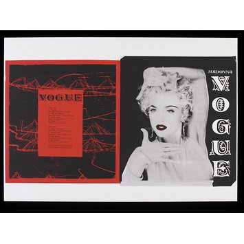 Poster - 'Vogue' album cover design