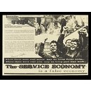The Service Economy is a False Economy (Poster)