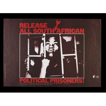 Poster - Release All South African Political Prisoners!