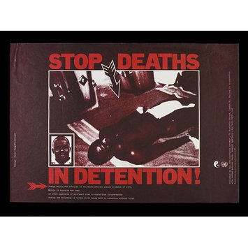 Poster - Stop Deaths in Detention!
