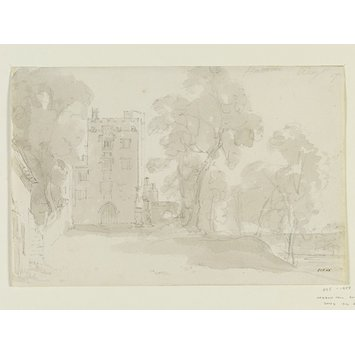 Drawing - Haddon Hall