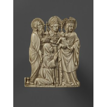 Group relief - Virgin and Child with Saints