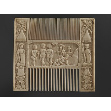 Comb - The Judgement of Paris and David's message to Bathsheba