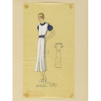 Fashion design - Été 1933, Robes d'Après-midi et Tea Gowns.
