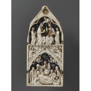 Triptych  - The Death and Coronation of the Virgin
