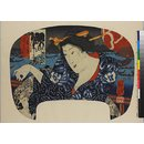 Night, Rain and Thunder (Woodblock print)