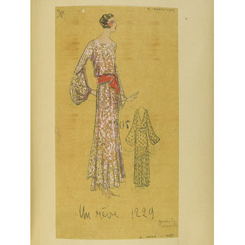 Fashion design - Été 1930, Robes d'Après-midi et Tea Gowns