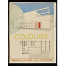 Colours: Decoration of to-day, no.3, January 1936, Written, illustrated and produced by Mr. Chermayeff (trade catalogue)