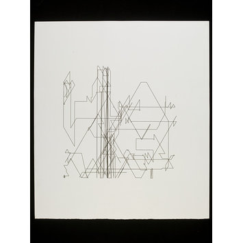 plotter drawing - Zufälliger Polygon