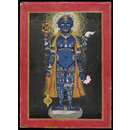 Vishnu as Vishvarupa (cosmic or universal man) (Painting)