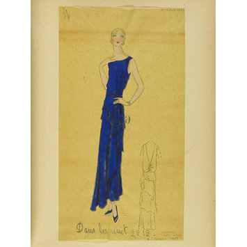 Fashion design - Hiver 1930-31, Robes de Soir