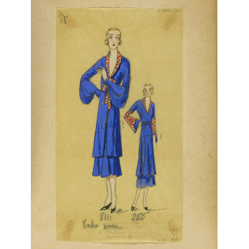 Fashion design - Été 1931, Costumes et Manteaux