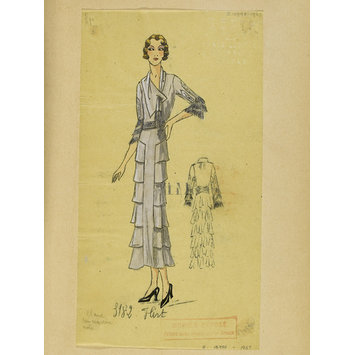 Fashion design - Été 1932, Robes d'Après-midi et Tea Gowns