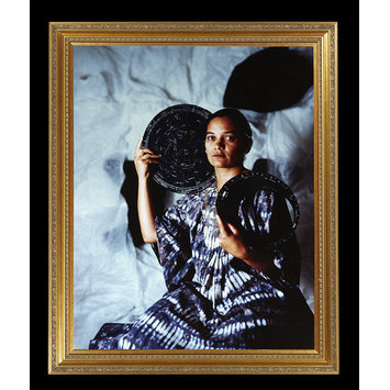 Photograph - Urania (Portrait of Lubaina Himid)