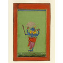 Varaha, the third avatar of Vishnu (Painting)