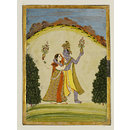 Radha and Krishna  (Painting)