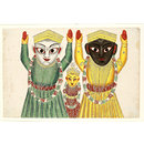 Jagannatha, Balabhadra and Subhadra (Painting)