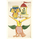 Jatayu, Ravana and Sita (Painting)