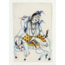 Shiva and Nandi (Painting)