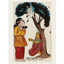 Hanuman and Sita (Painting)