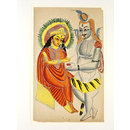 Annapurna and Shiva (Painting)