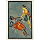 Lakshmana and Indrajit (Painting)