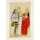 Parvati and Shiva (Painting)