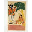 Savitri and Yama (Painting)