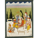 Rama and Sita (Painting)
