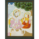 Shiva and Parvati (Painting)