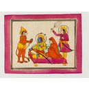 Rama, Sita, Lakshman and Hanuman (Drawing)