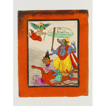 Drawing - Vishnu as Varaha