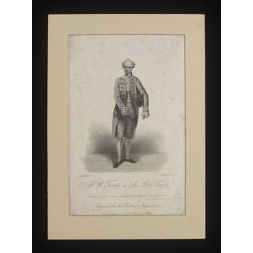 Print - Mr. W. Farren as Sir Peter Teazle