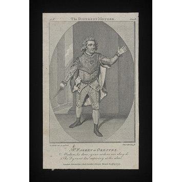 Print - Mr. William Farren as Orestes