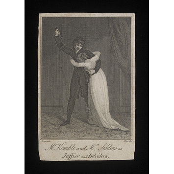 Print - Mr Kemble and Mrs Siddons as Jaffier and Belvidera