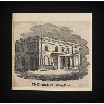 Print - The Theatre Royal, Drury Lane