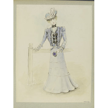 Fashion design - Éte 1898 - Robes de Ville
