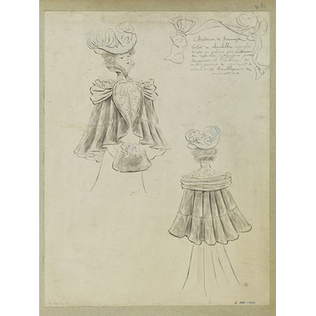Fashion design - Hiver 1897