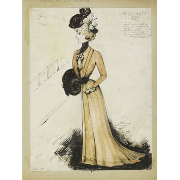 Fashion design - Hiver 1899