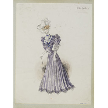 Fashion design - Robe Andrée II