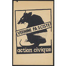 Vermine Fasciste. Action Civique (Poster)